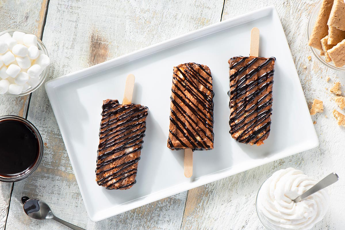 Ding Dongs™ Campfire S'mores Pudding Pops