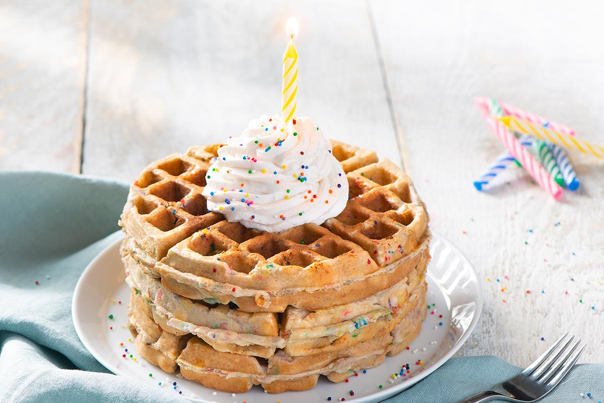 Twinkies™ Birthday Cake Waffles